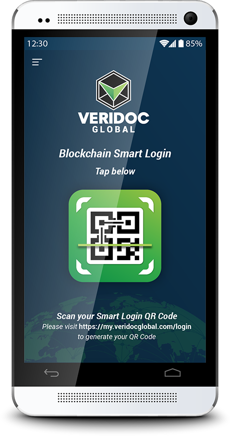 Veridoc Smart Login Banner